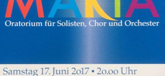 MARIA – Oratorium für Solisten, Chor und Orchester –